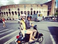 Roman Holiday Vespa Tour