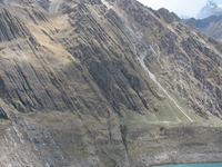 Solterococha Lake In The Huayhuash Trekking Circuit