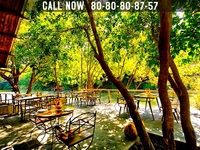 Jalsrushti  River Side Dining Area