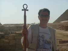 Our Guide George With The Key Of Life