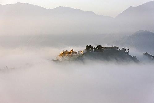 Hiking Around Kathmandu -Nabo Buddha Photos