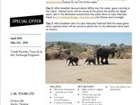 3 days / 2nights Safari