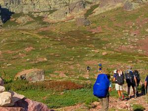 Happy Hiking, Walking, Trekking & Climbing Trails Photos