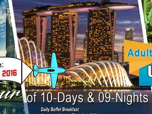 3 Countries Group Tour of Singapore, Malaysia & Thailand