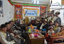 Explore Tibet Staff At Lhasa Office
