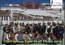 Explore Tibet Staff 2014
