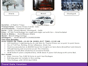 Travel India Vacations - Himachal Couple Package 09990912713 Fotos