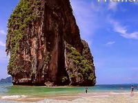 Railey Beach Krabi Thailand