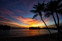 Sunset At Sentosa Singapore