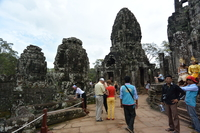 Tourist In Angkor Wat