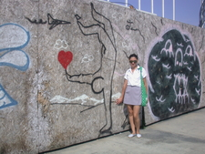 Graffitti Wall In Batumi