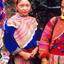 Mountain Beauty Flower Hmong Girls
