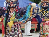 Mongolian National Art-Tsam Dance