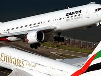 Qantas Emirates