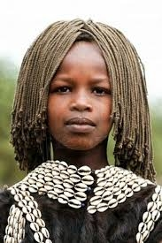 Tsemay Girl With Her Awesome Braided Hairstyle