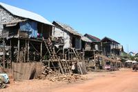 Kampong Kleang, Floating Village Dry Season