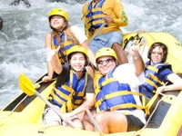 Bali Rafting With Happy Customers