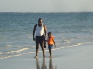Beach of Kenya