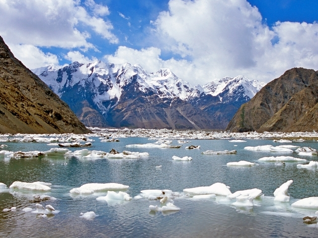 Trekking to The Base Camp of Khan-Tengri and Pobeda Peaks - Kyrgyzstan Photos