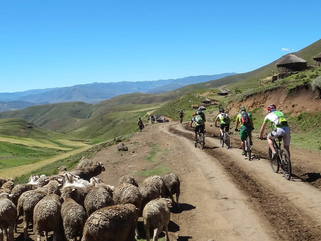 Lesotho Eastern Highlands MTB Tour Photos