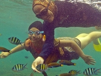 Snorkeling At Kelagian Lunik
