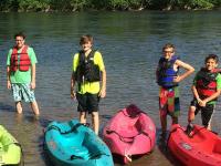Kayaking Standing Lehigh Delaware River