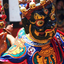 Dancers With Colorful Mask Dance