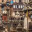 Courtyard In Kathmandu