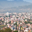 Panorama View To Kathmandu City From Swayambhunath Temple