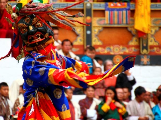 Thimphu Drubchen and Tshechu Tour Photos