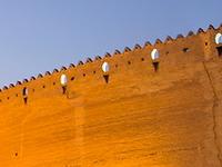 01 Citadel Walls At Dusk