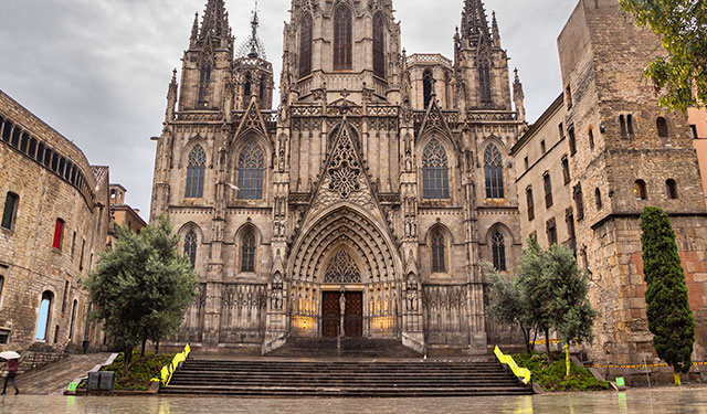 Bask in Barcelona Photos