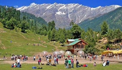 9,000 INR pp -Shimla-Kullu-Manali Volvo Tour Package Photos