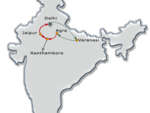 North India Tour with Holi Festival Photos
