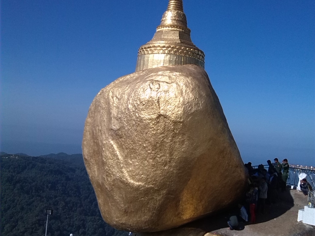 Golden Myanmar in a Rush Photos
