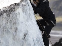 Blue Ice Tour Includes Ice Climbing
