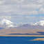 The Holy Lake Yamdrok-tso And The Snow Mountain