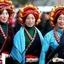 The Khangba Women Dressing Style In Tibet Http://www.tibetanstravel.com