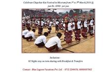 Celebrate Chapchar Kut Festival In Mizoram @ Just Rs. 4200/-