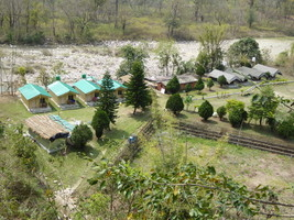 Riverside Camping at JIm Corbett - Vatanvasa Gate Photos