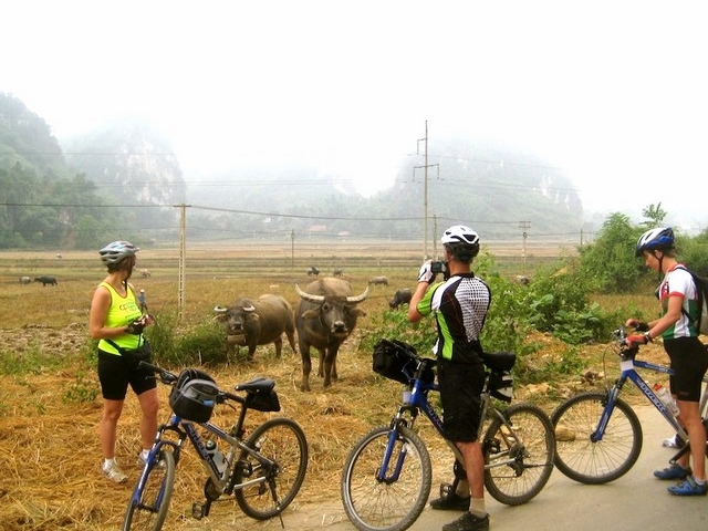 Mai Chau and Ninh Binh Cycling Tour Photos