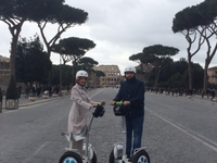 On Our Way To The Colosseum
