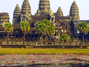 One Day at Angkor Wat Complex