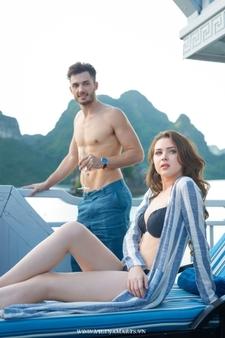 Luxury Life On Boat Halong Bay Vptsunbathing 13