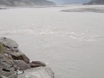 Copper River At Chitina River