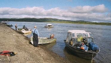 Shoreline Of Kuskokwim River