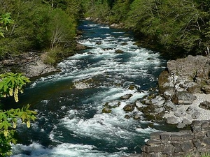Río North Santiam