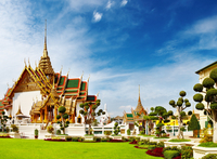 Bangkok Shore Excursion: Private Grand Palace and Buddhist Temples Tour Photos