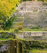 Belize New River Cruise and Lamanai Mayan Ruins Day Trip by Air from Ambergris Caye Photos