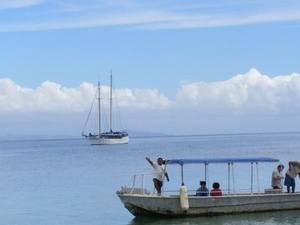 Fijian Islands and Snorkel Full-Day Whales Tale Cruise including Beach BBQ Lunch Photos